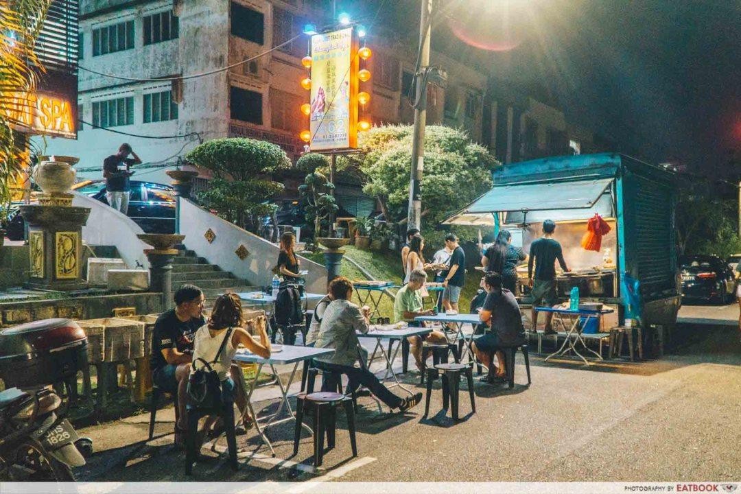 Johor Bahru Hawker Food - Fa Ge Lok Lok Food Truck
