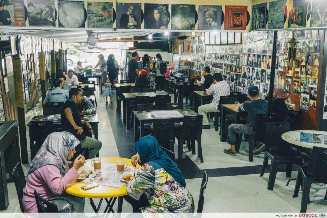 Johor Bahru Hawker Food - Warung Saga Ambience