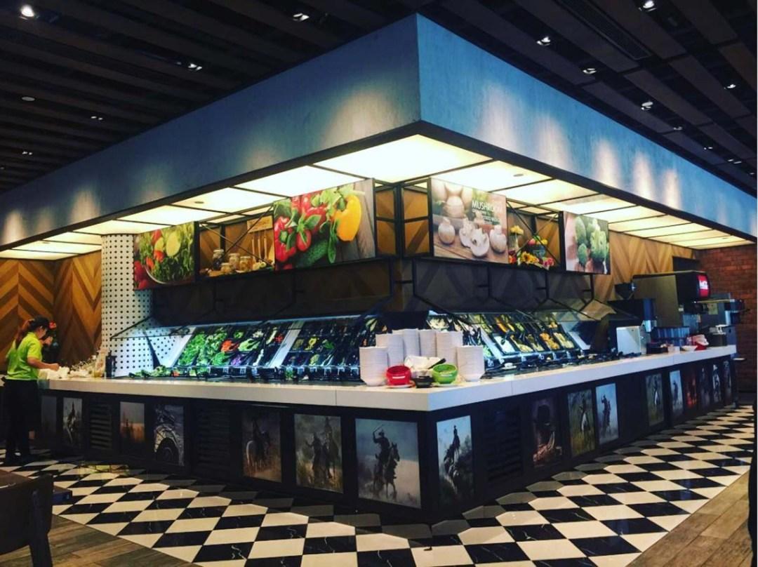 Salad Bar Buffets - Astons Steak and Salad