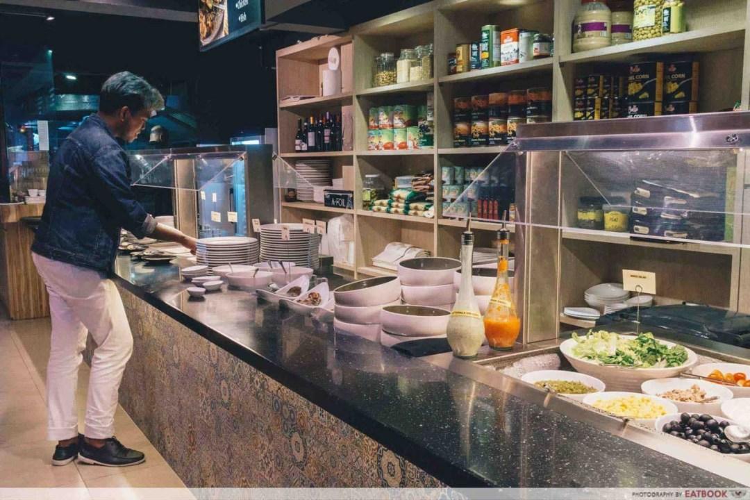 Salad Bar Buffets - Pita Tree Mediterranean Kitchen and Bar
