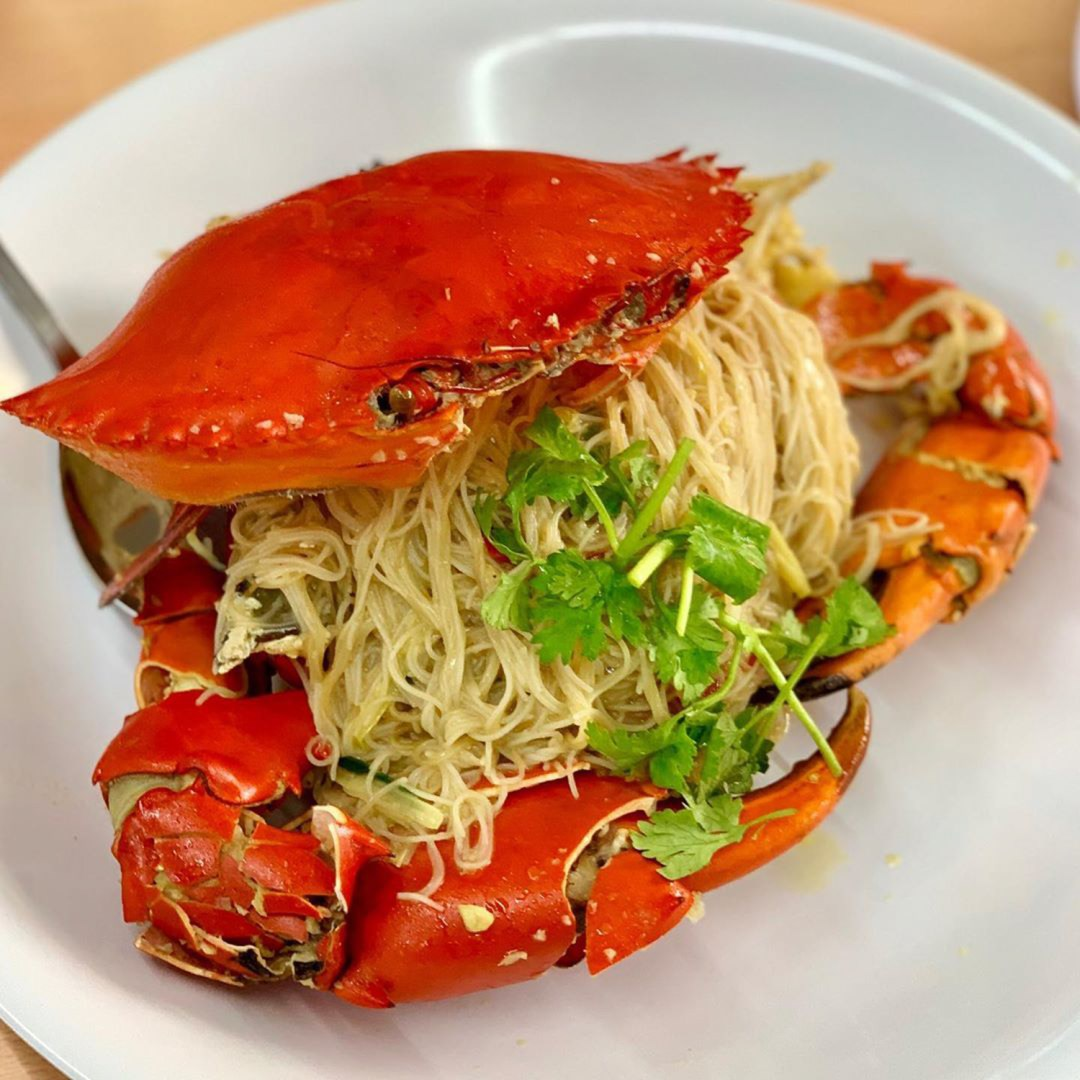 Crab Bee Hoon - 7 Mile Seafood
