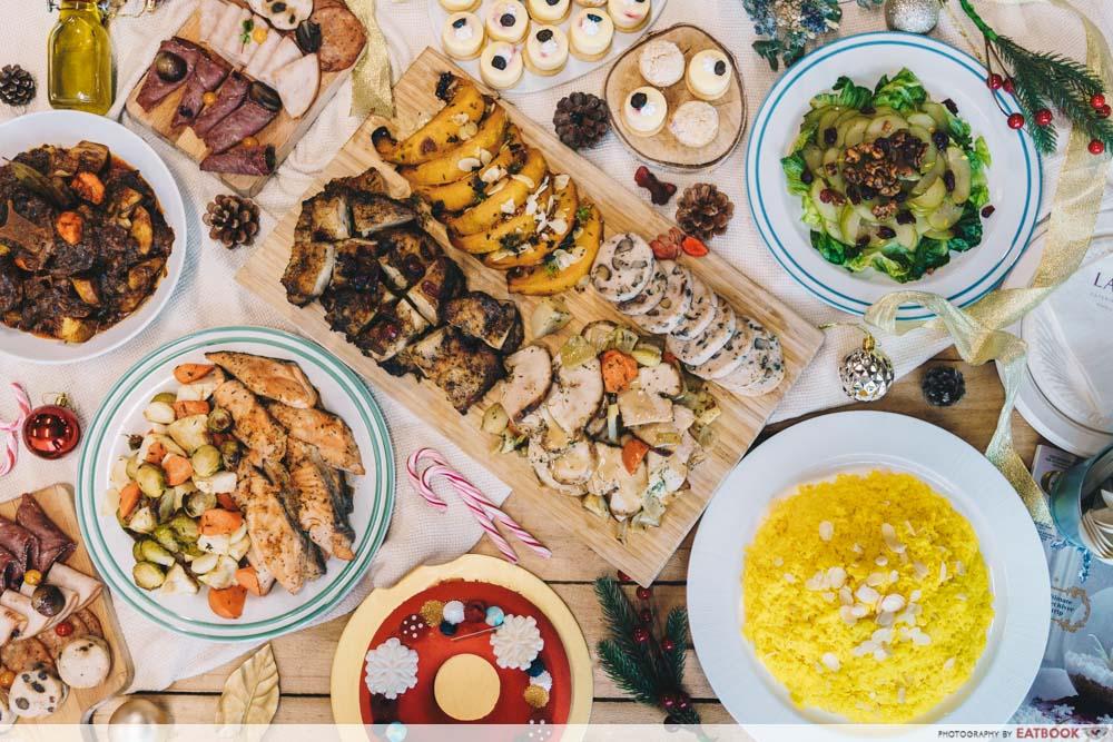 LAVISH Catering - Flatlay