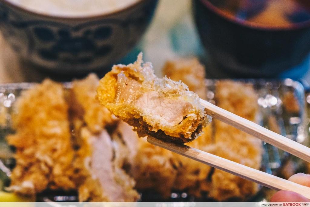 shiokoji Tonkatsu Keisuke pork oil