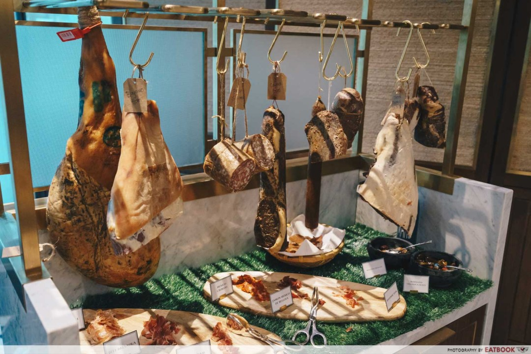 15 Stamford by Alvin Leung - Cured Meats