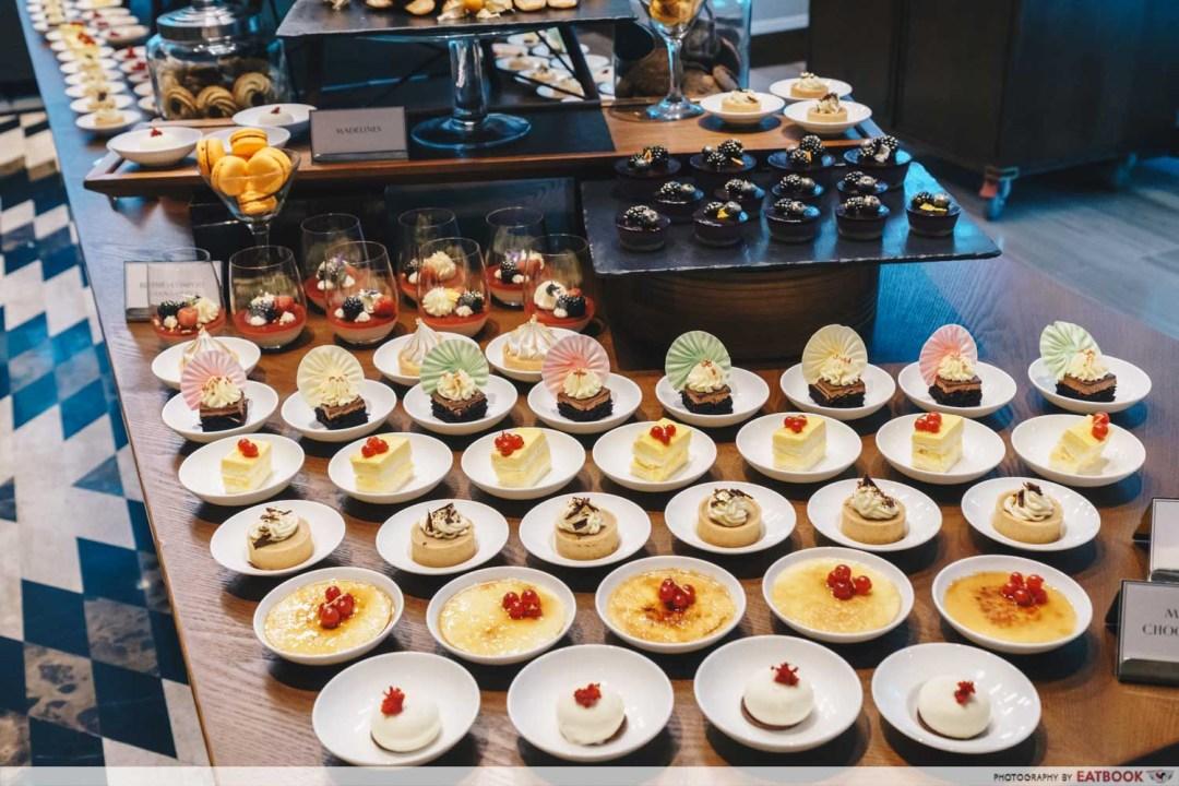 15 Stamford by Alvin Leung - Dessert Spread