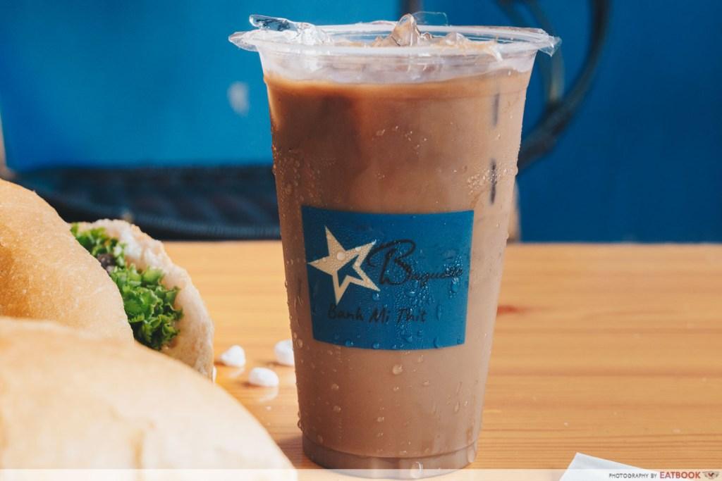 Banh Mi Thit Vietnamnese coffee