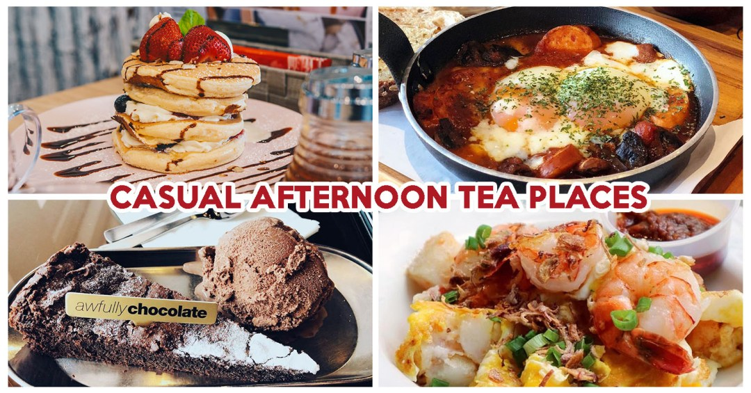 Casual Afternoon Tea Places - Feature Image