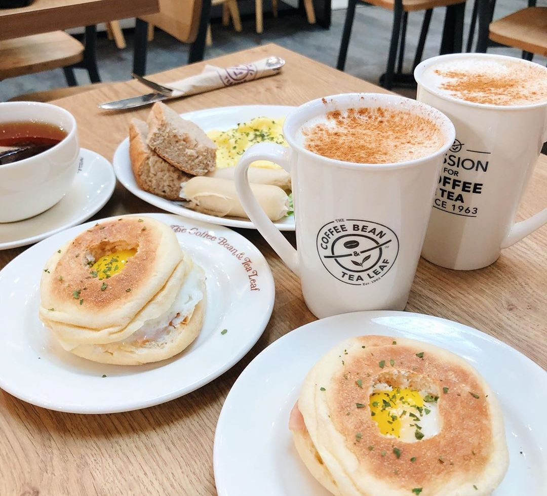 Casual Afternoon Tea Places - The Coffee Bean & Tea Leaf