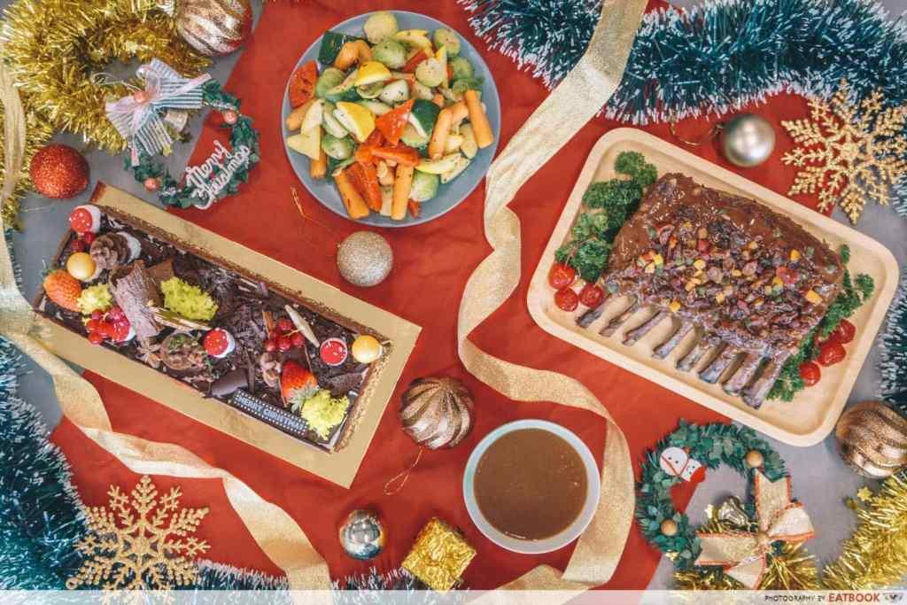 Christmas Dinner - Cafe Mocha