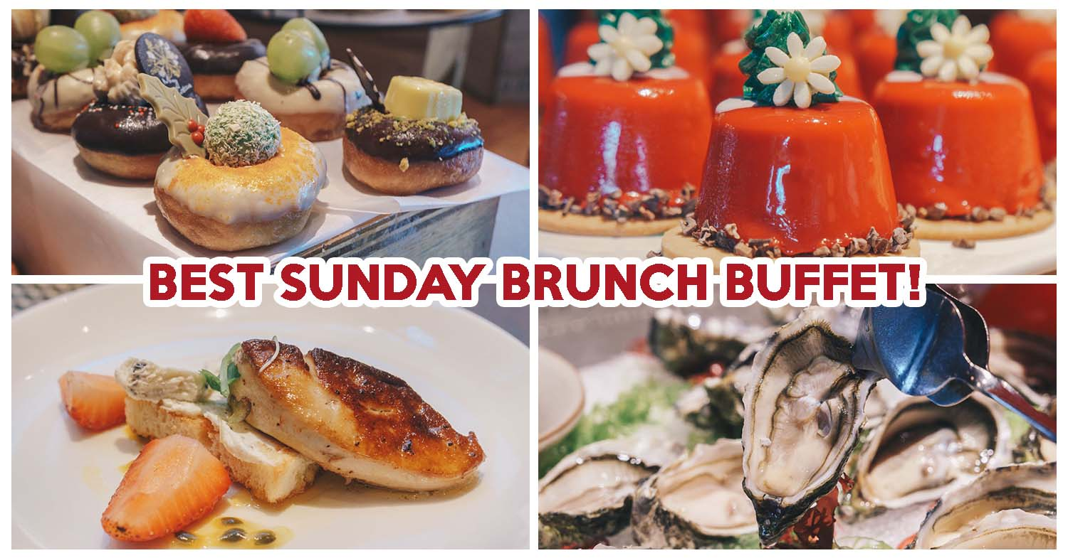 Edge Review: Best Sunday Brunch Buffet In Singapore With ...