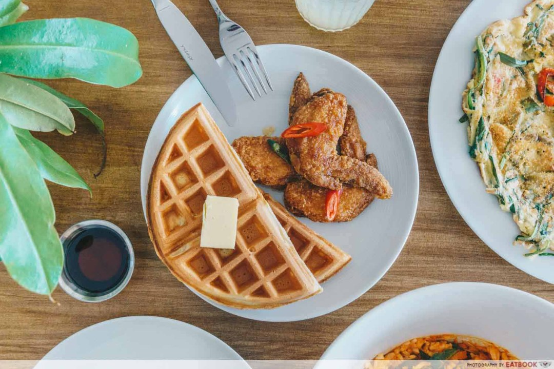 Kong Cafe - Honey Butter Waffles