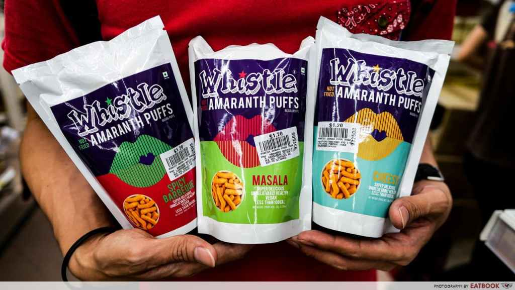 Mustafa Snacks Whistle Roasted Amaranth Puffs