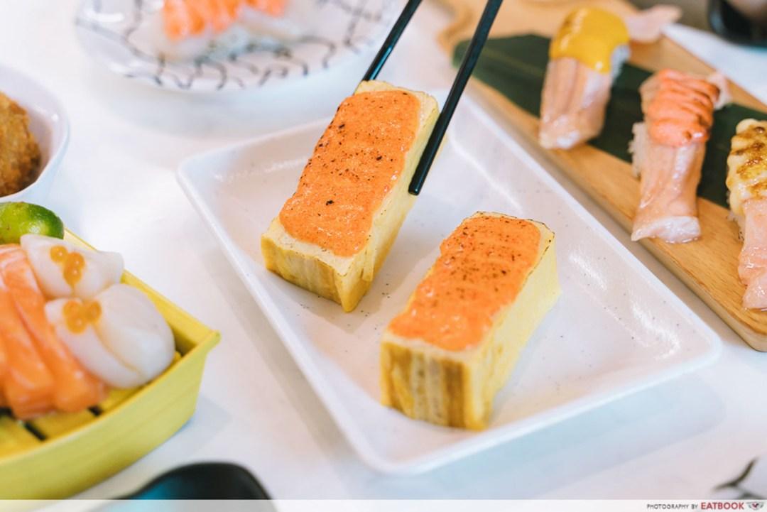 Sushi Plus - Cheese Masago with Tamagoyaki