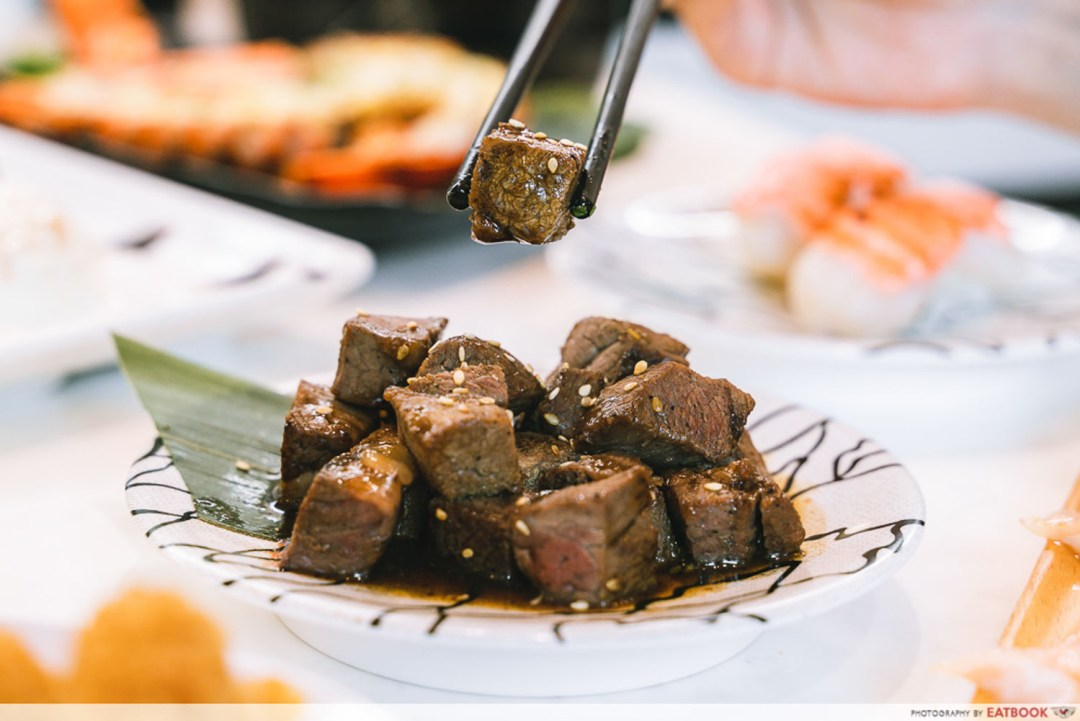 Sushi Plus - Seared Beef Cubes