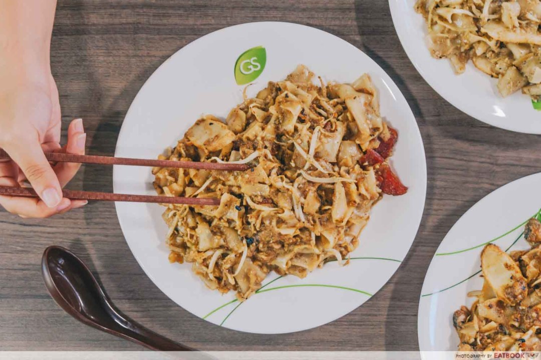 Apollo Fresh Cockle Fried Kway Teow - Flatlay