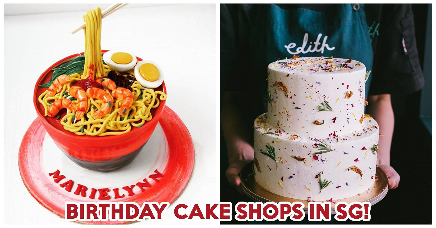 Excellent 20 Birthday Cakes In Singapore Including Custom Cakes And No Funny Birthday Cards Online Necthendildamsfinfo