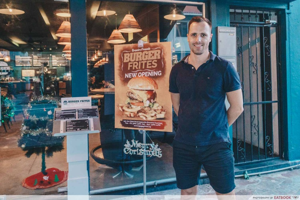 Burger Frites owner
