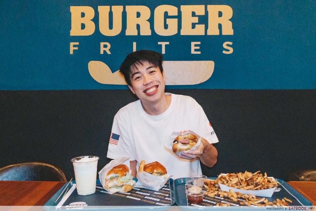 Burger Frites verdict shot