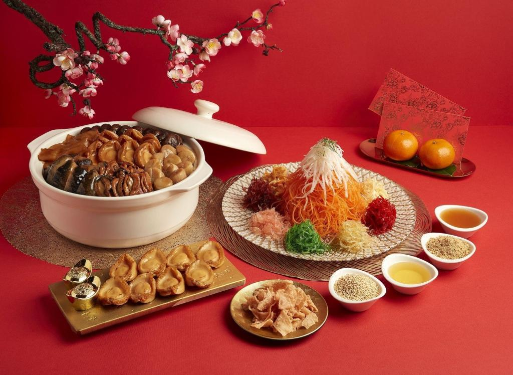Chinese New Year Hotel Buffet Paradise group of restaurants