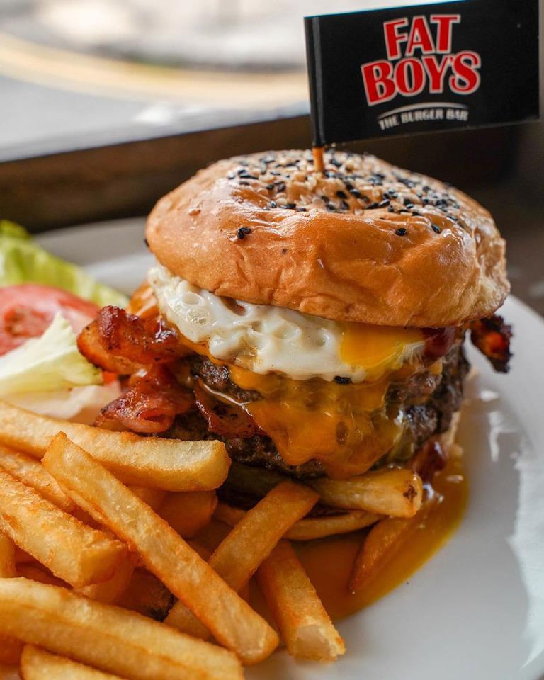 Holland Village Food Fatboy's The Burger Bar