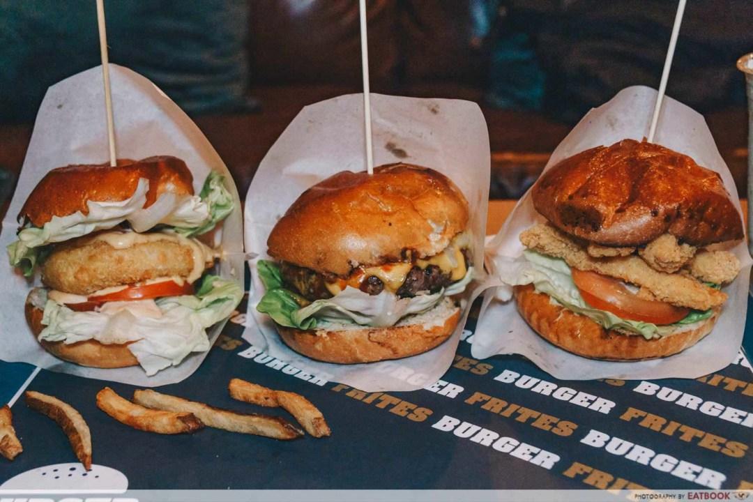 January New Restaurants - Burger Frites