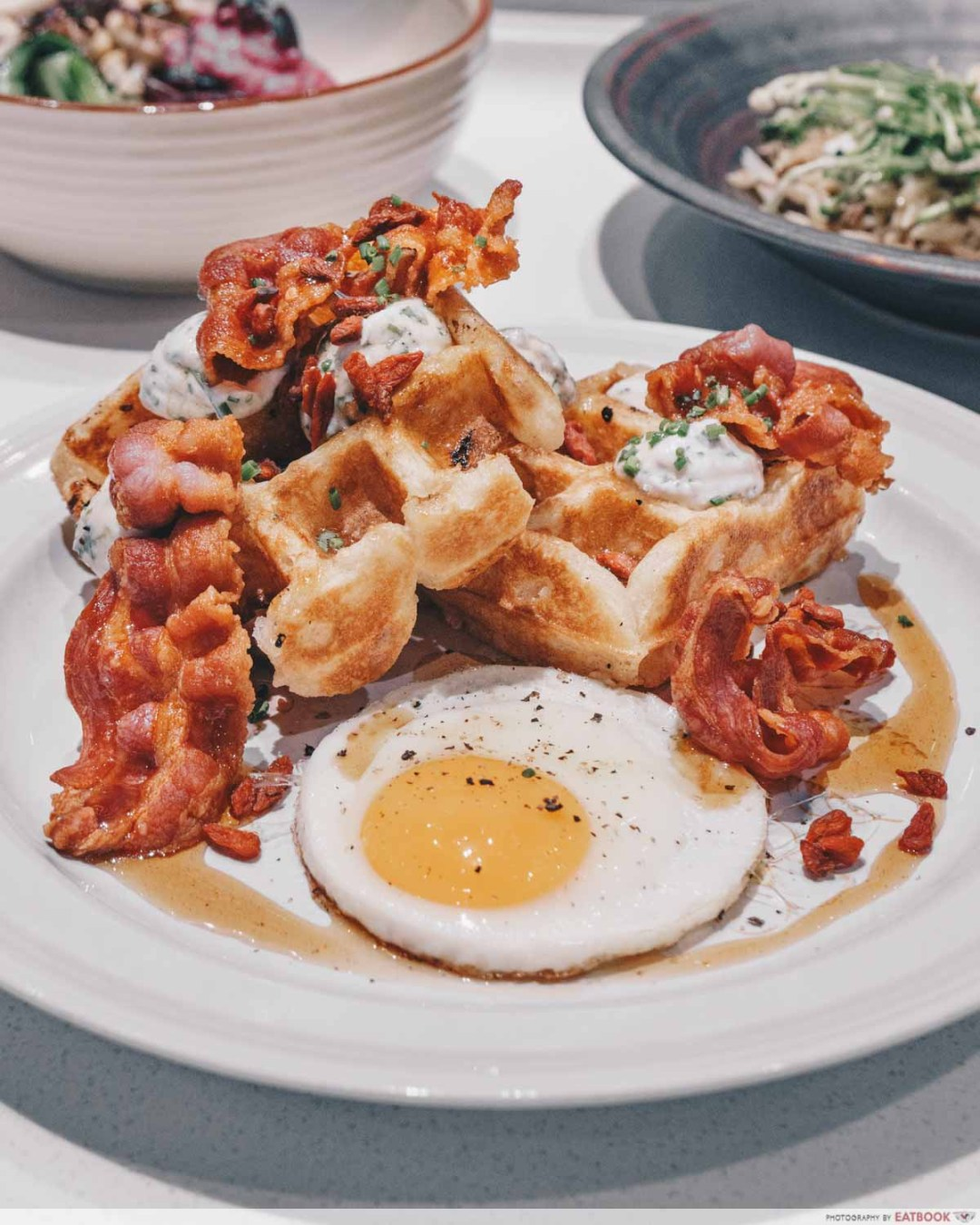 Tiong Bahru Bakery Diner 100% Sourdough Waffle-Savoury