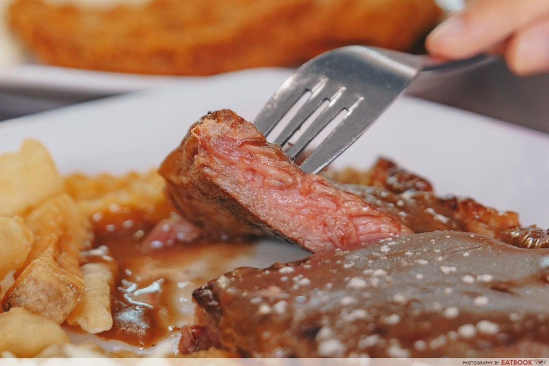 Tip Top Western Food - Close up of steak