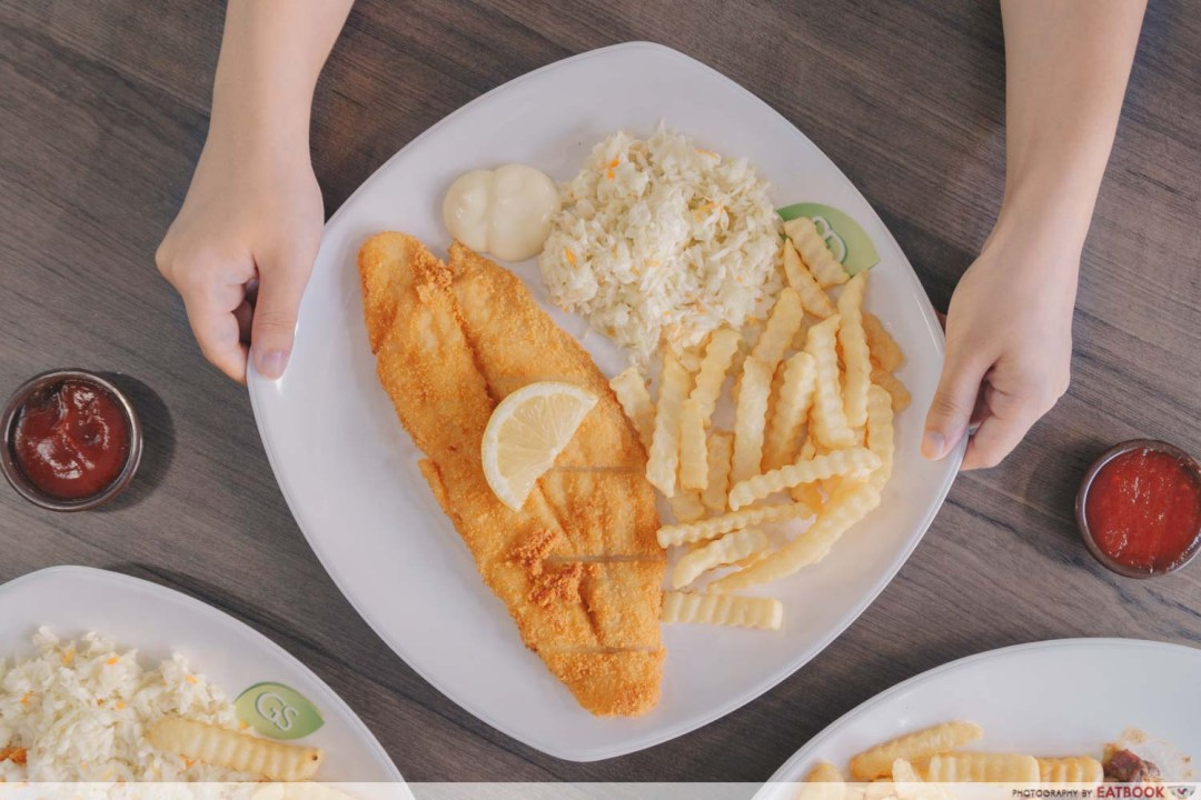 Tip Top Western Food - Fish and Chips