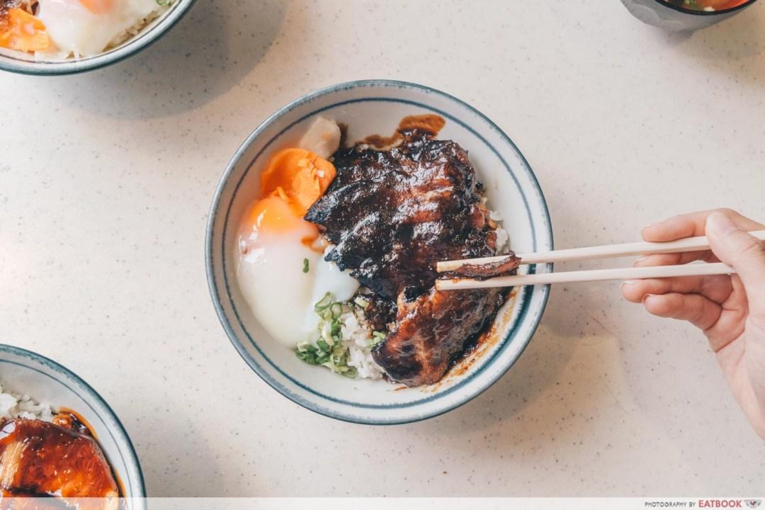 Buta Kabayaki - Iberico Pork Char Siew Don