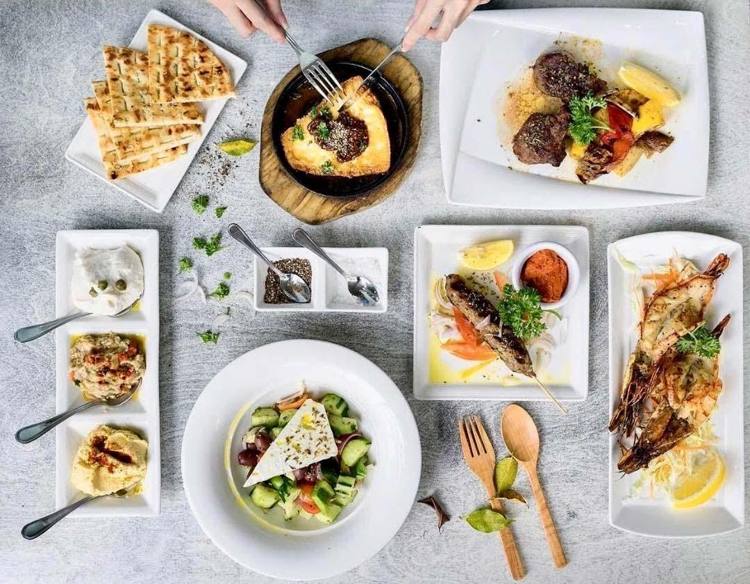 Dempsey Hil Restaurants - Blu Kouzina food