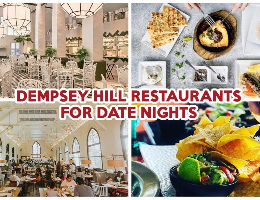 Dempsey Hill Restaurants Cover Image