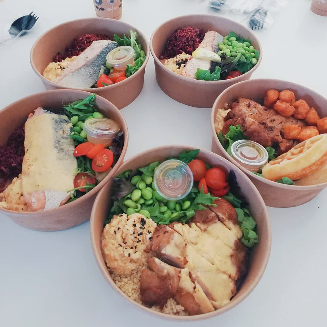 Healthy food delivery services Lean Bento