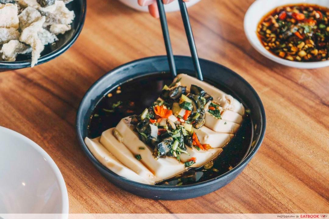 Congee Legend - century egg tofu
