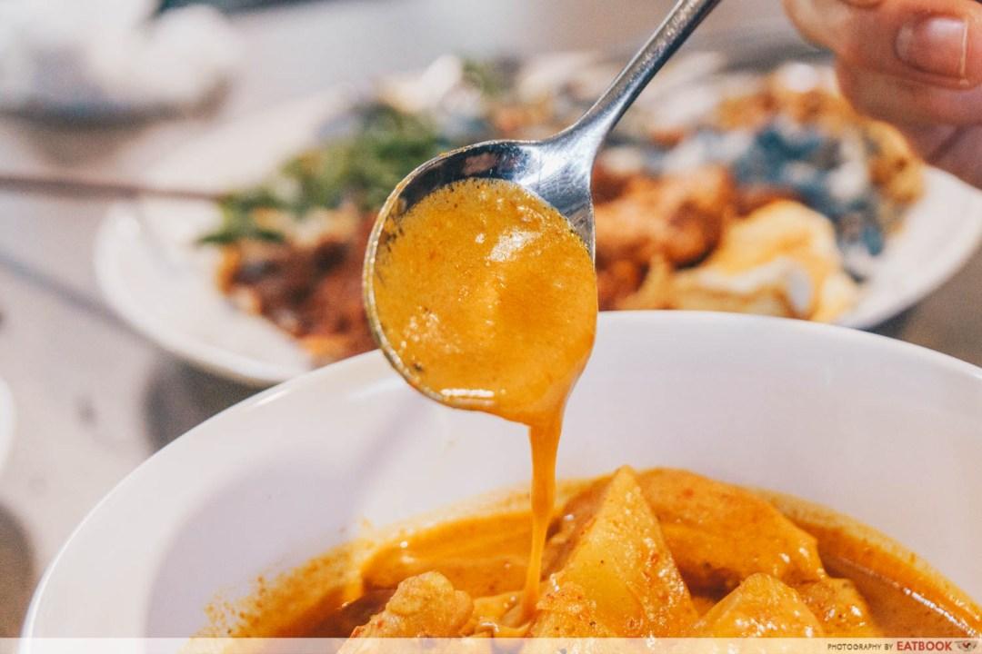 Emmanuel Peranakan Cuisine - Curry closeup shot