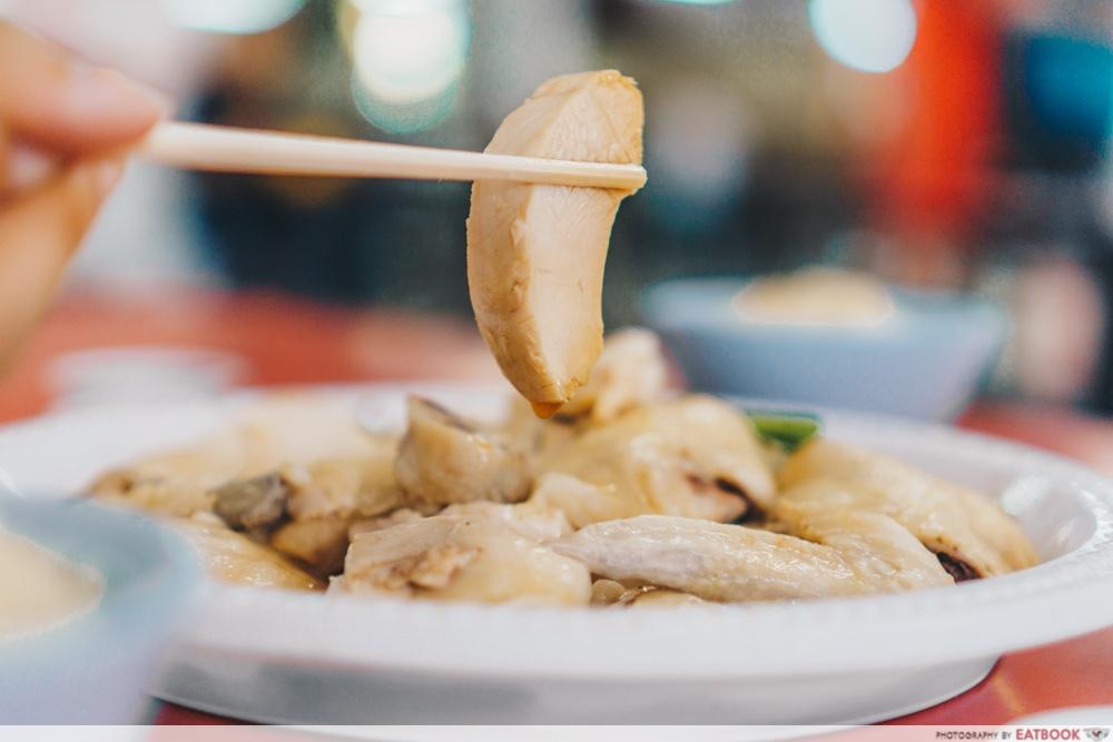 Heng Ji Chicken Rice - Chicken close up