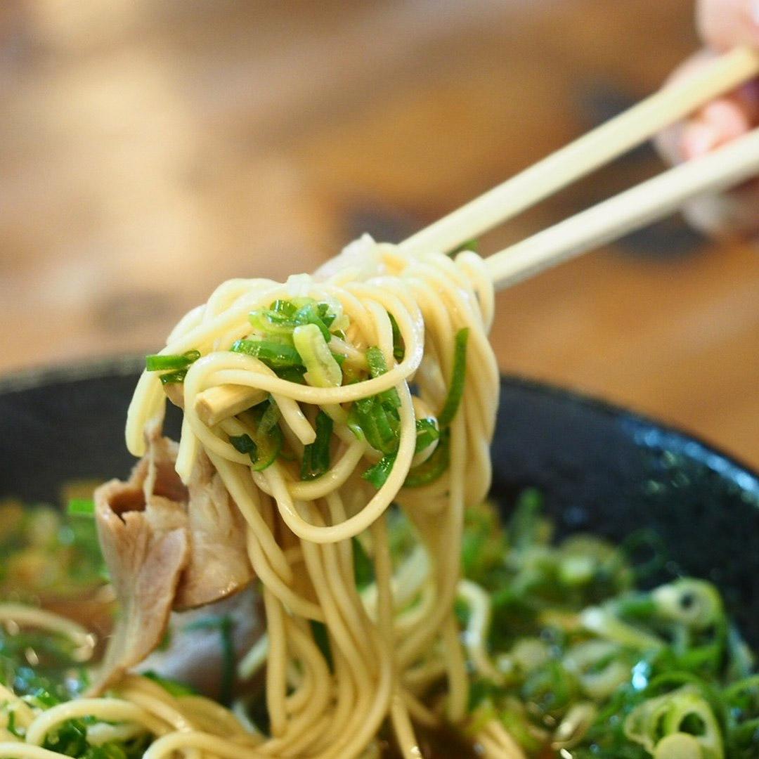 Menbaka Fire Ramen - Ramen noodle pull
