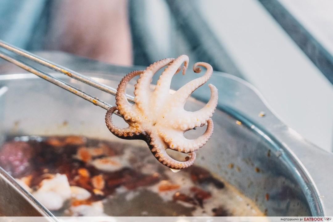 Yi Zi Wei - Mini octopus closeup