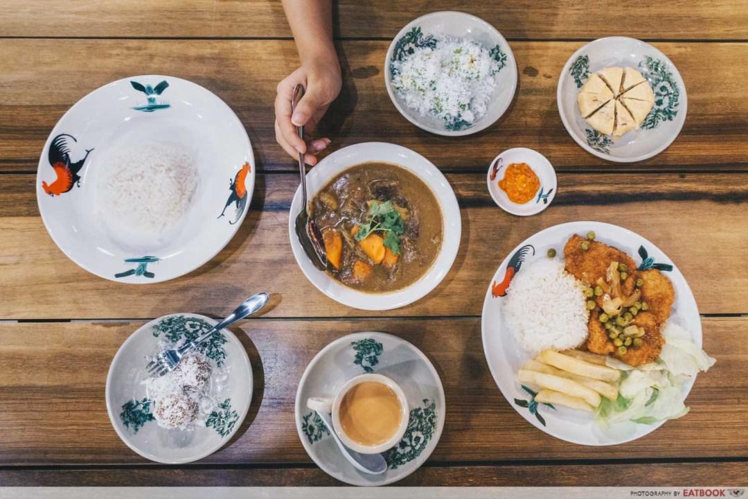 Chuan Ji Bakery Hainanese Delicacies - Flatlay