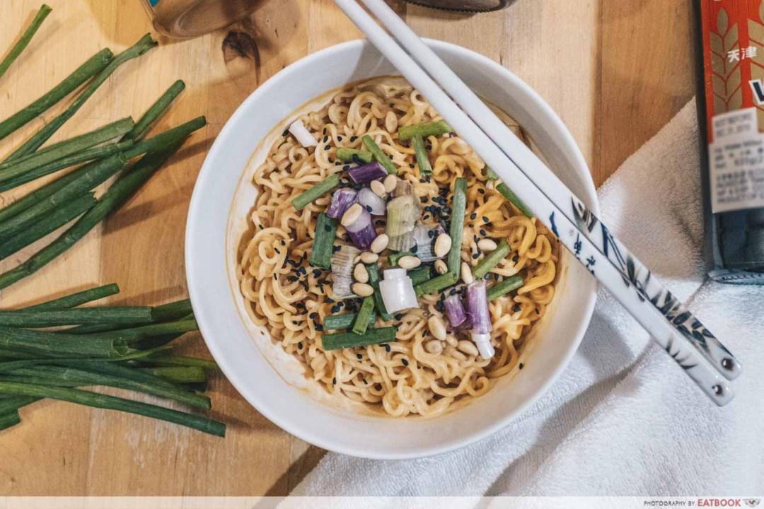 Instant Noodles Recipes - Dan Dan Mian