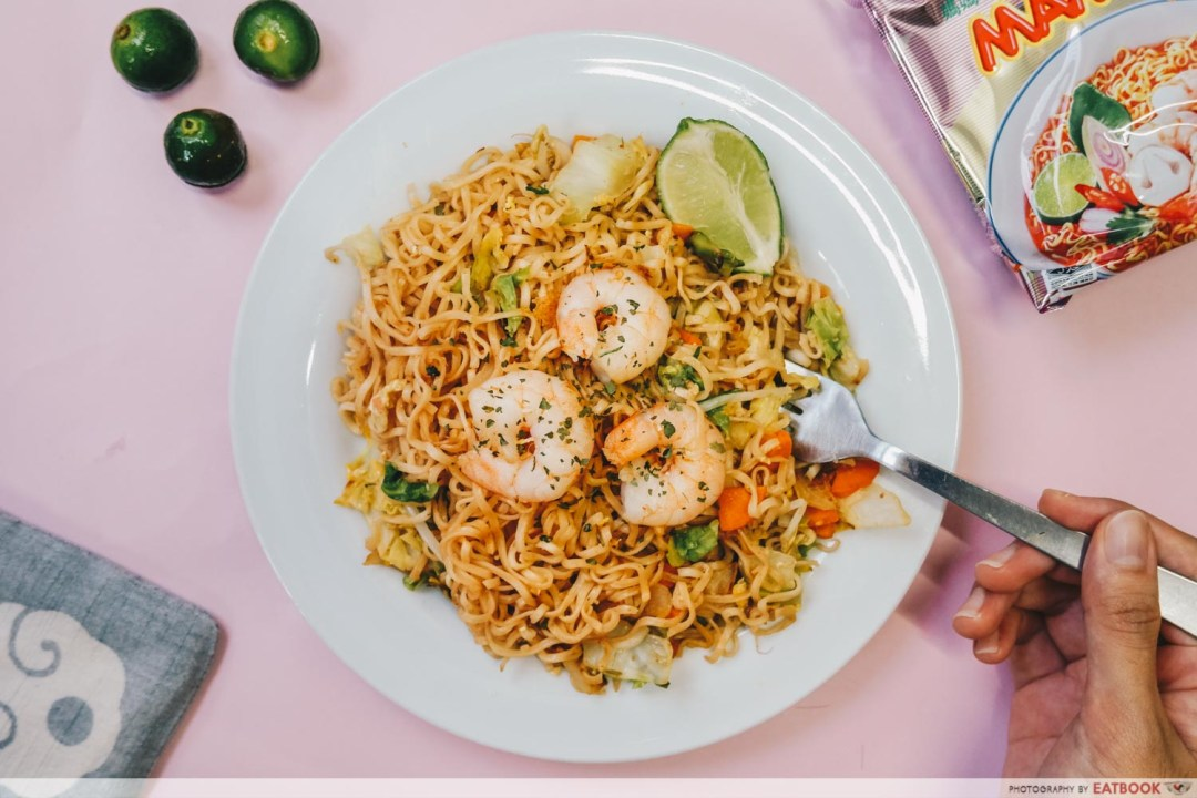 Instant Noodles Recipes - Pad Thai