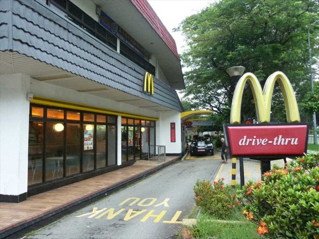 McDonald's takeaways
