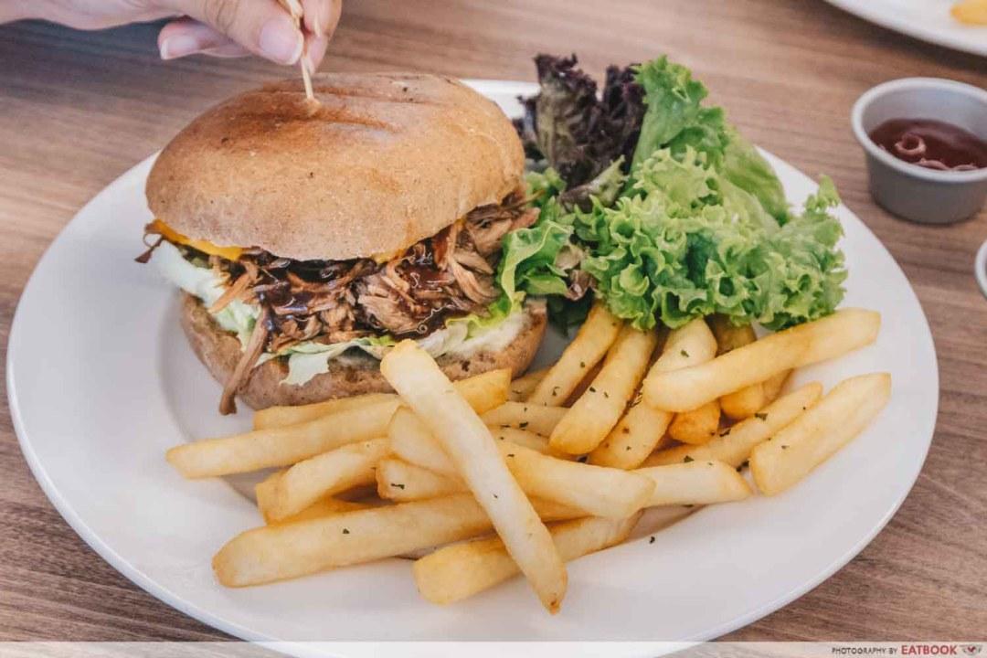 SteakGrill - Pulled Pork Burger