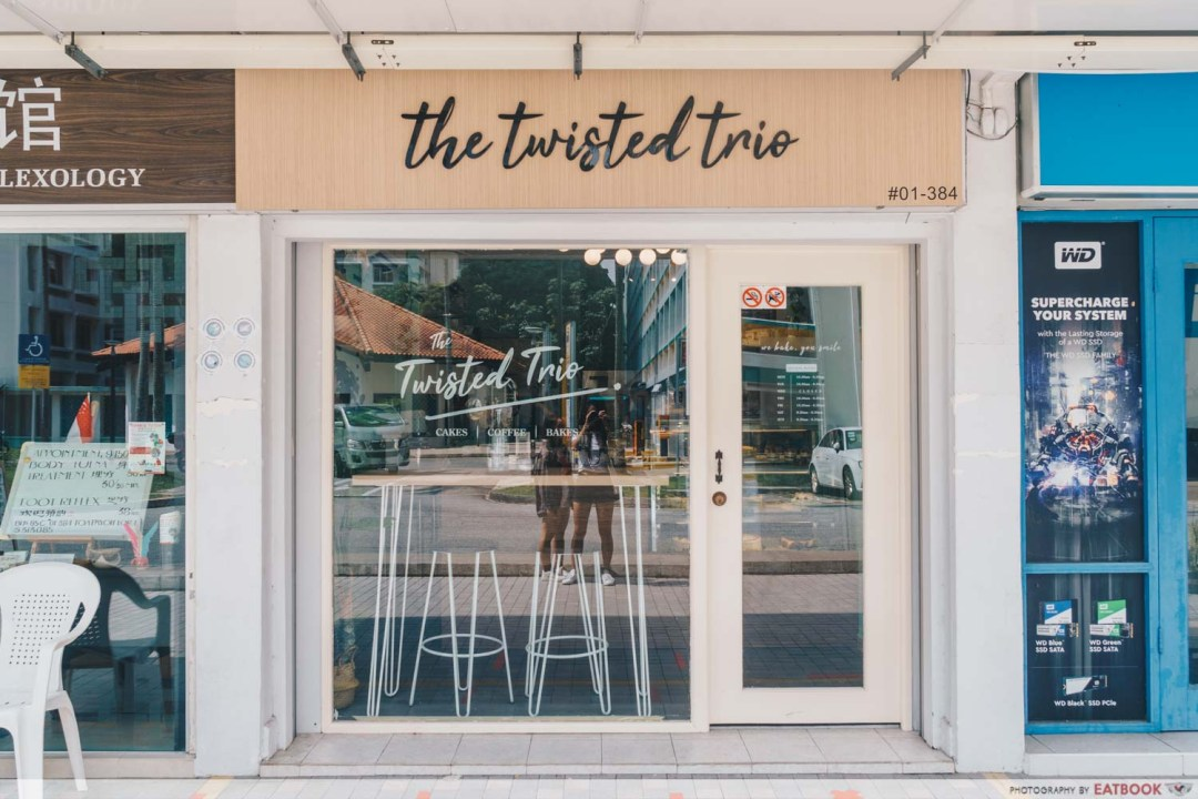 The Twisted Trio - Storefront