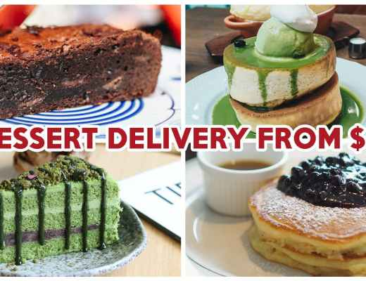 Chope Dessert Delivery - Feature Image