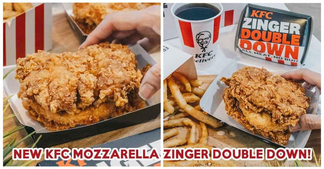 KFC Mozzarella Zinger Double Down - Feature Image