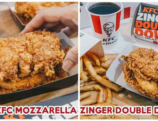 KFC Mozzarella Zinger Double Down - Feature Image