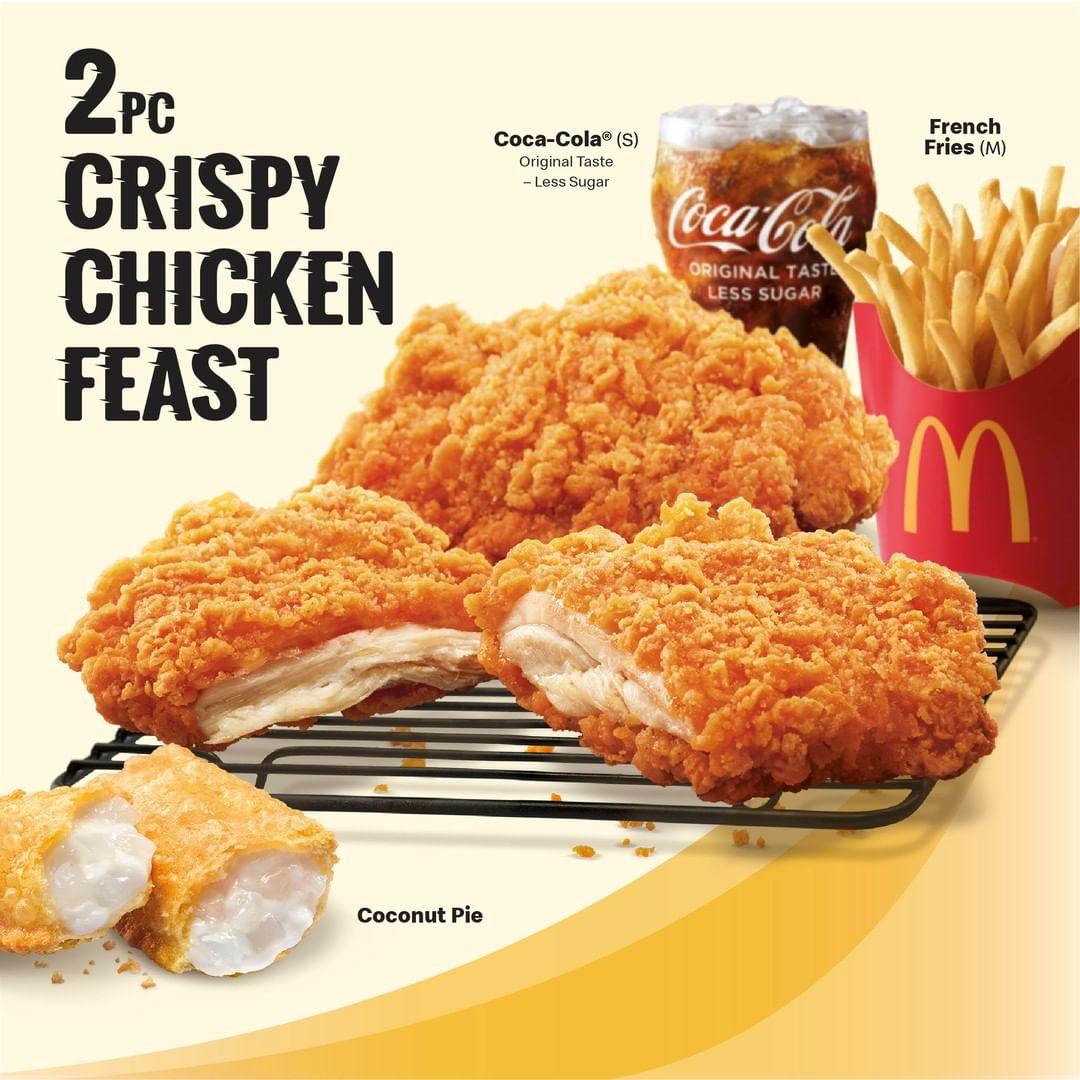 McDonald's Crispy Chicken - Crispy Chicken Feast