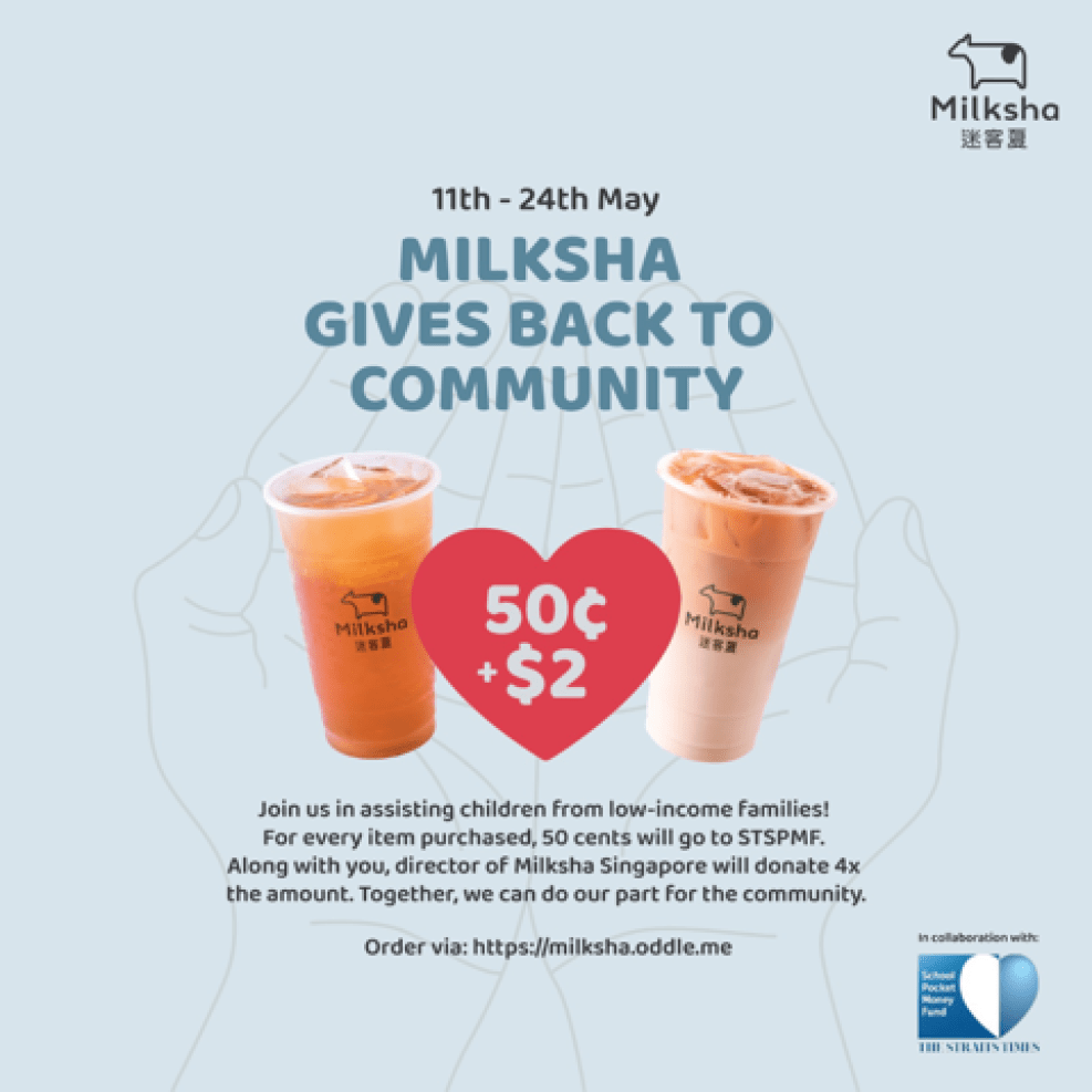 Milksha Islandwide Delivery - Donation