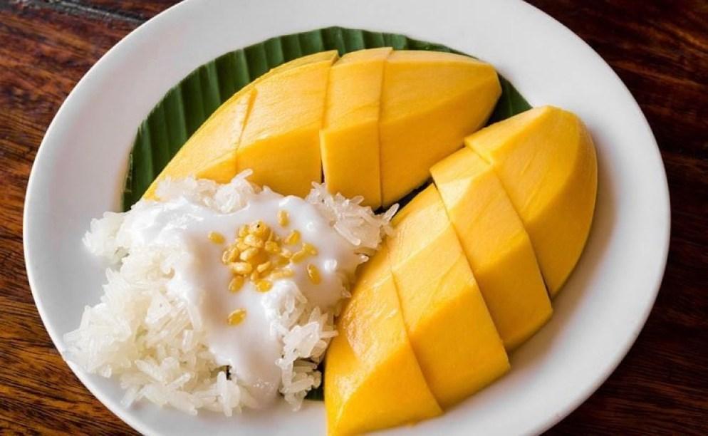 No-Bake Asian Desserts - Thai Mango Sticky Rice