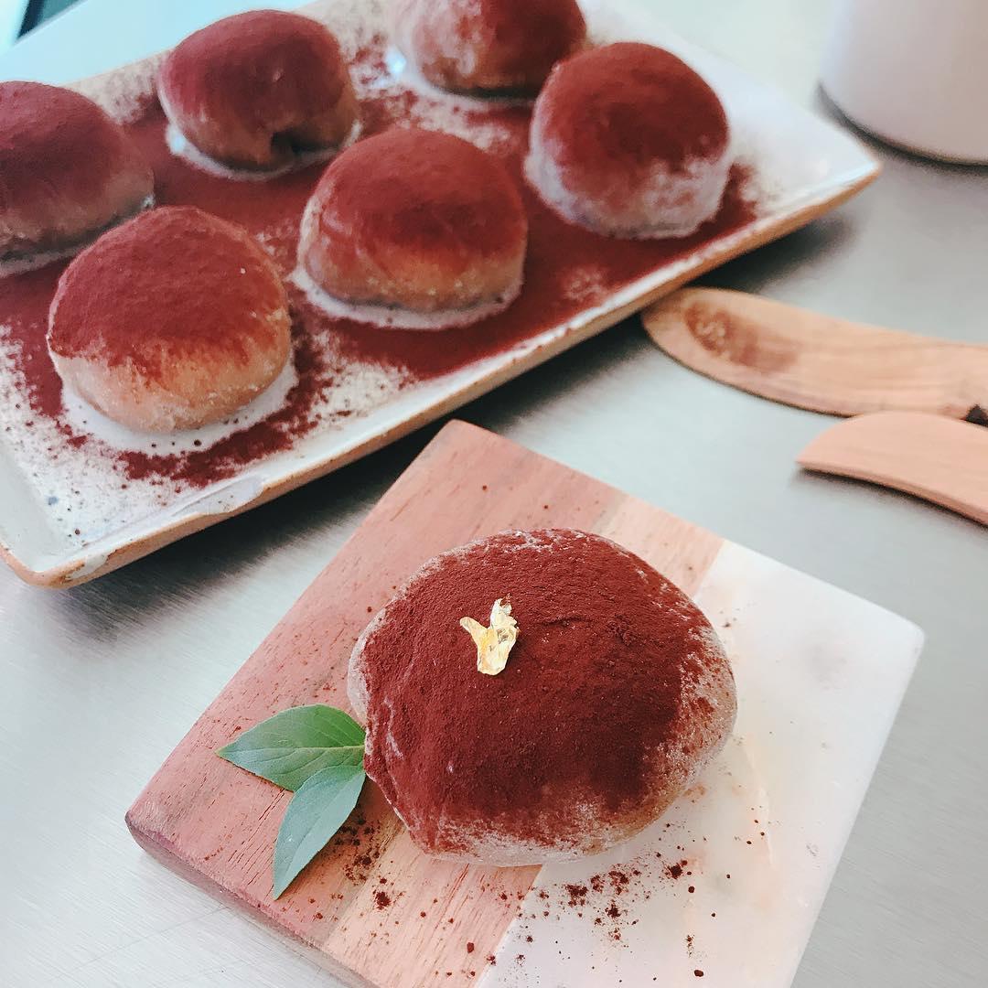 No-Bake Asian Desserts - Tiramisu Mochi